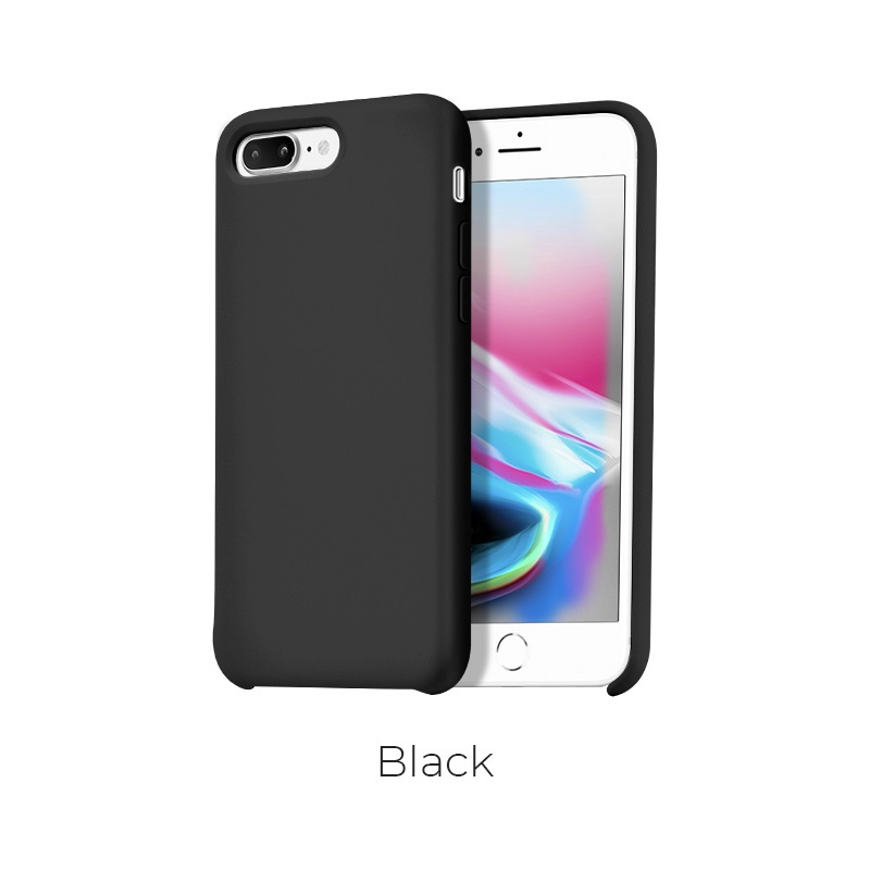 ip 7 8 plus pure case black