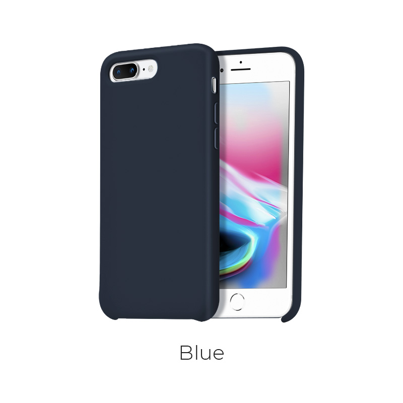 ip 7 8 plus pure case blue