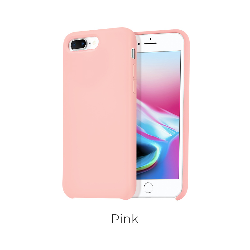 ip 7 8 plus pure case pink