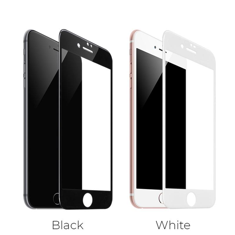 shatterproof edges full screen hd glass a1 iphone 7 8 plus colors