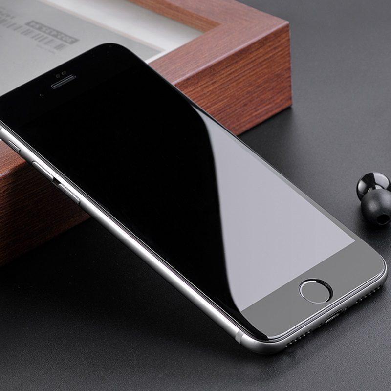 shatterproof edges full screen hd glass a1 iphone 7 8 plus on phone