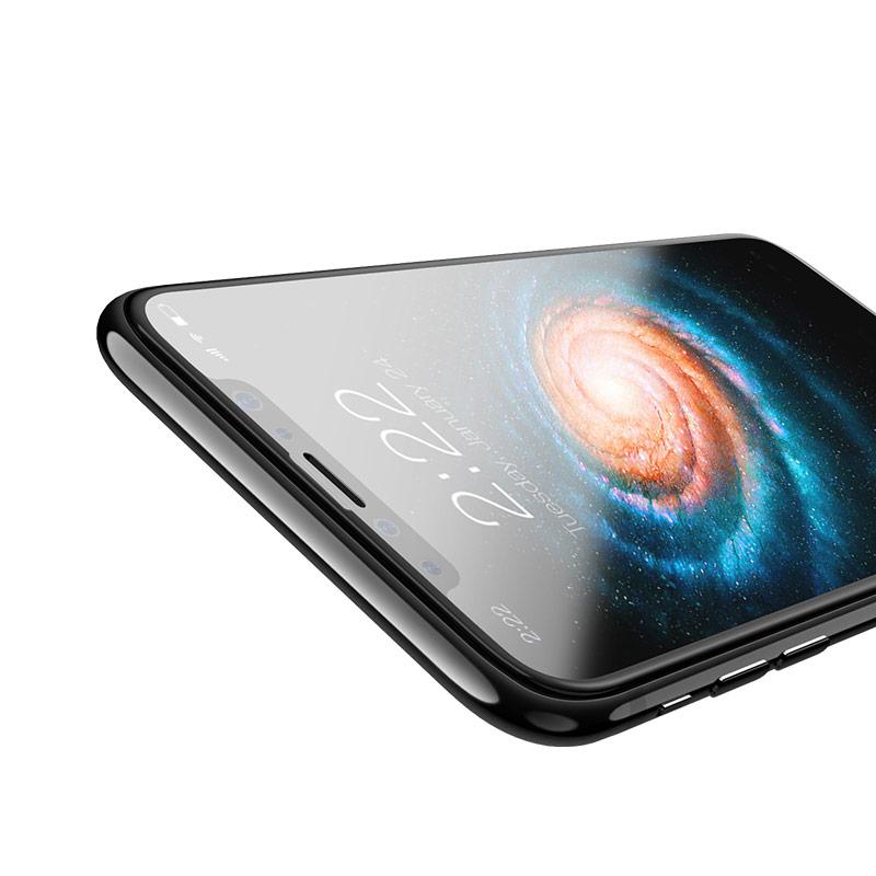 shatterproof edges full screen hd glass a1 iphone x cuts