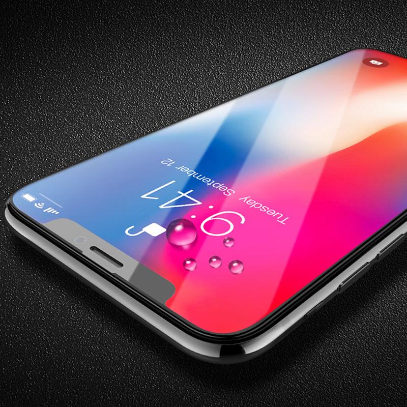 shatterproof edges full screen hd glass a1 iphone x drops