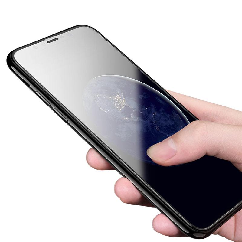 shatterproof edges full screen hd glass a1 iphone x hand