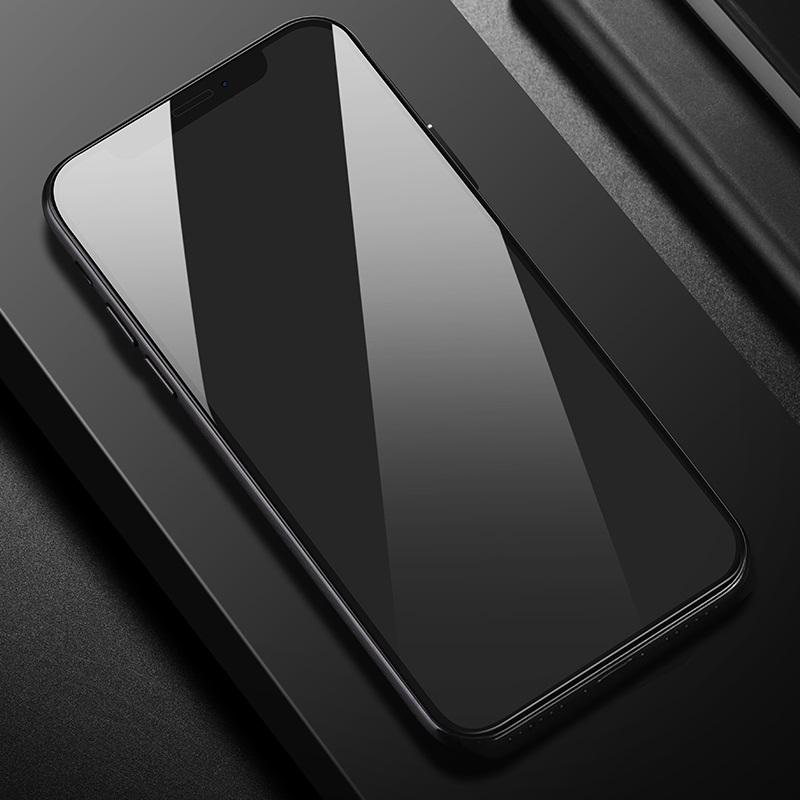 shatterproof edges full screen hd glass a1 iphone x installed