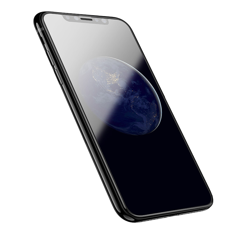 shatterproof edges full screen hd glass a1 iphone x on phone