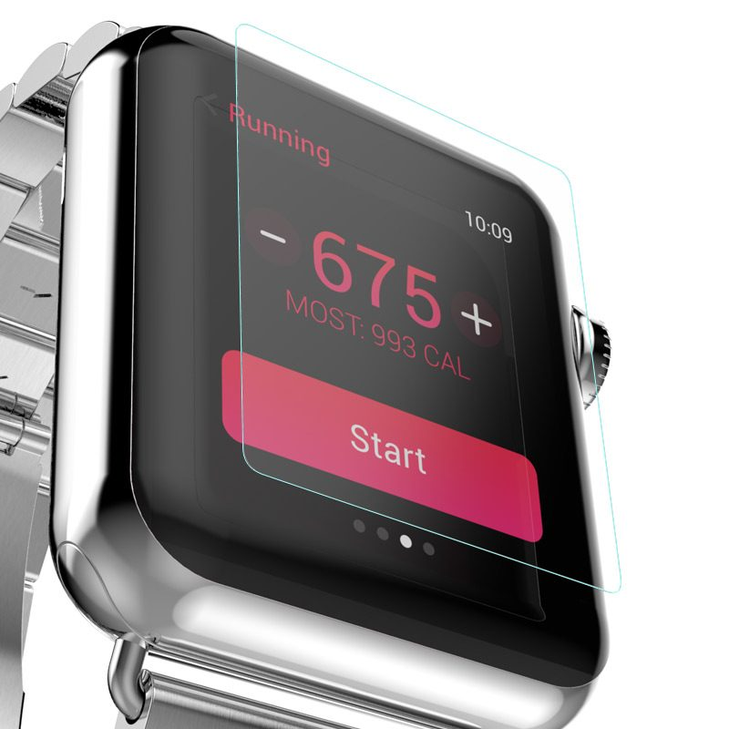 tempered glass screen protector apple watch overview