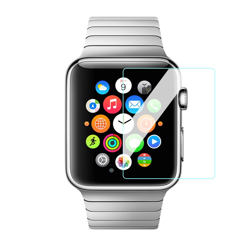 tempered glass screen protector apple watch transparency