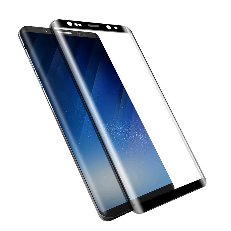 tempered glass screen protector galaxy note 8 transparency