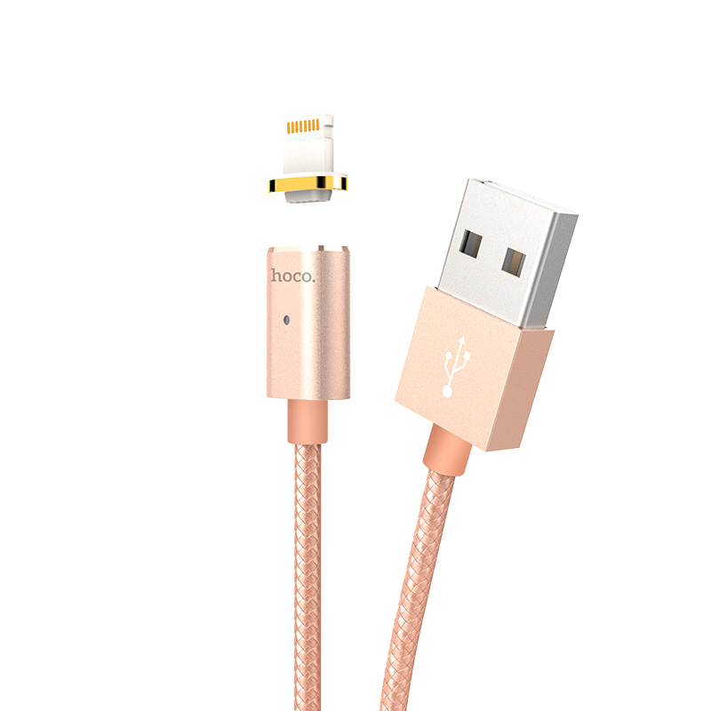u16 magnetic adsorption lightning charging cable main