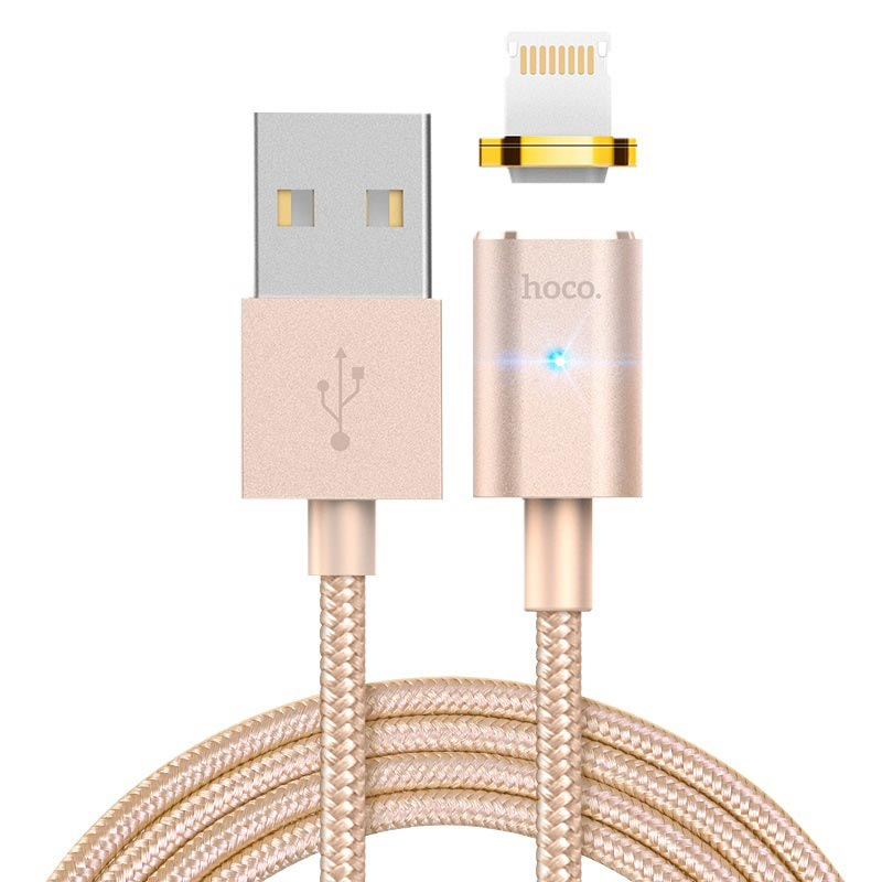 u16 magnetic adsorption lightning charging cable rounded