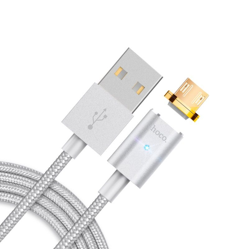 u16 magnetic adsorption micro usb charging cable