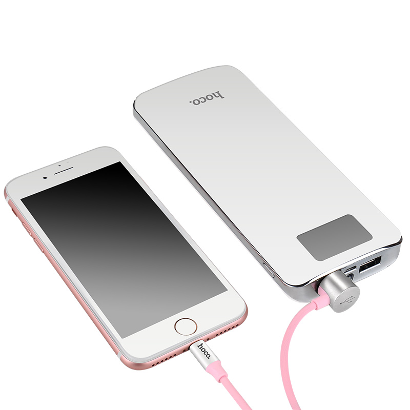 u18 golden hat multi functional charging cable charge pink