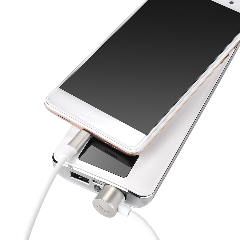 u18 golden hat multi functional charging cable charge white