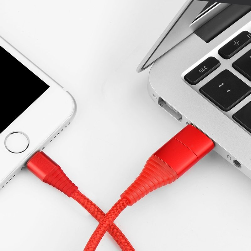 u26 multi functional lightning charging cable interior