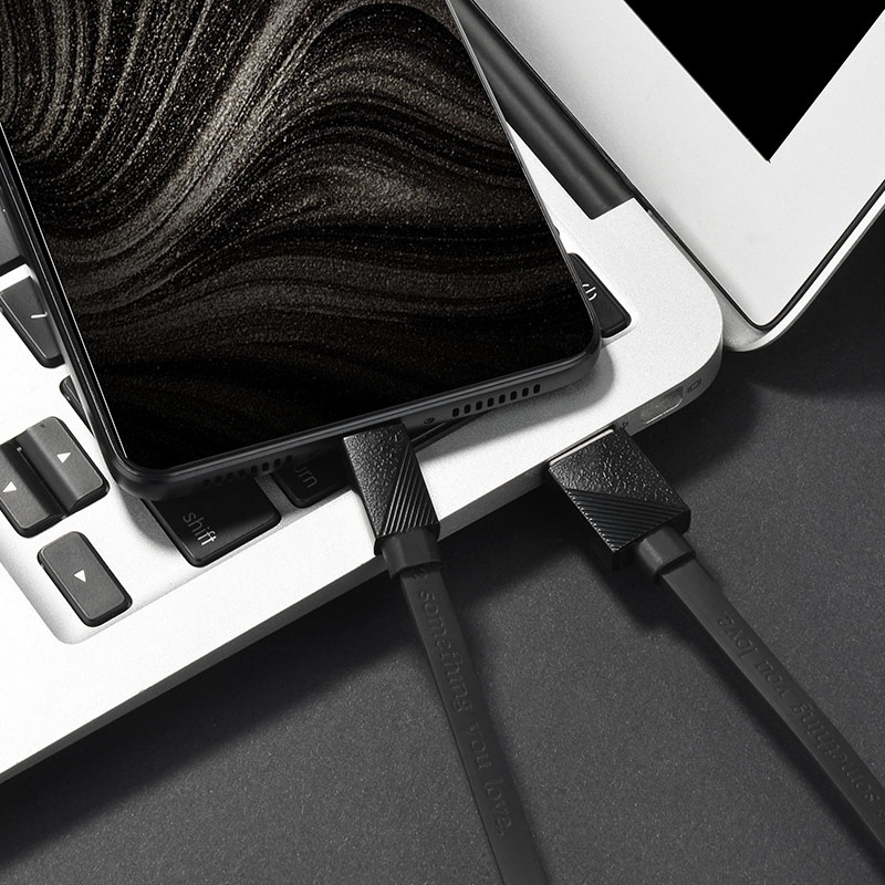 u34 lingying type c charging cable charge black