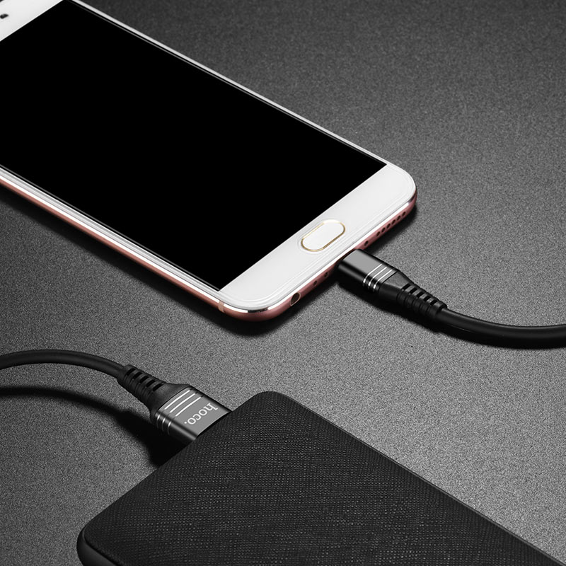u46 tricyclic silicone micro usb charging data cable charge