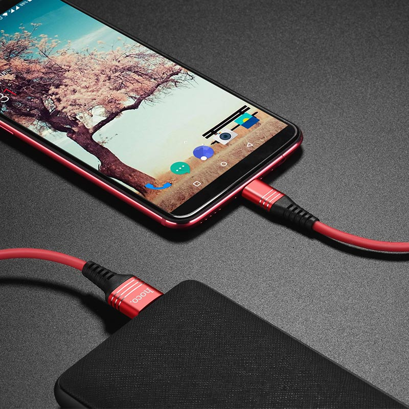 u46 tricyclic silicone type c charging data cable charge