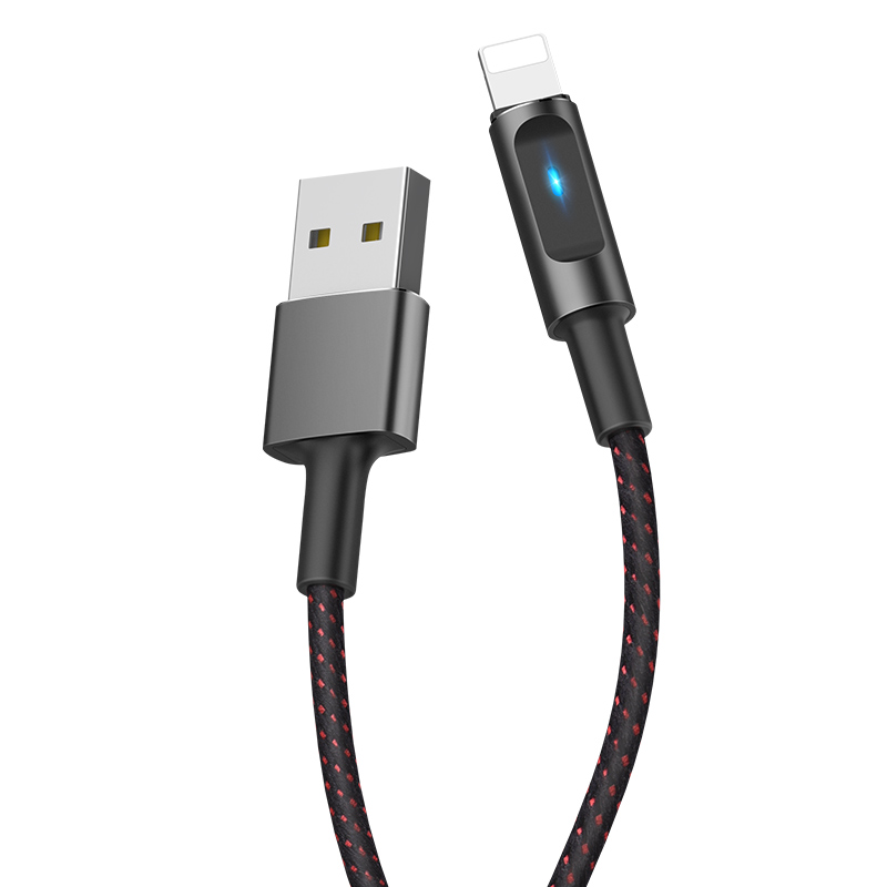 u47 essence core lightning smart power off charging data cable main