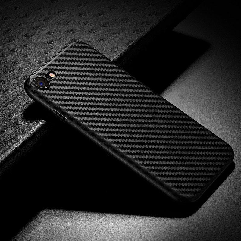 ultra thin carbon fiber case iphone 7 8 interior
