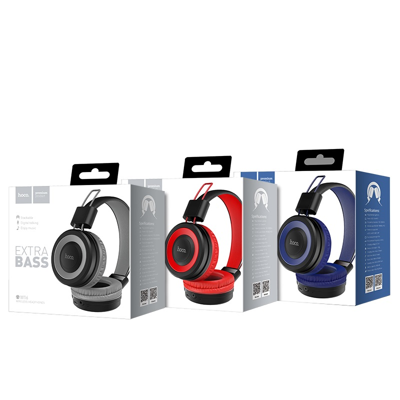 w16 cool motion bluetooth headphones package