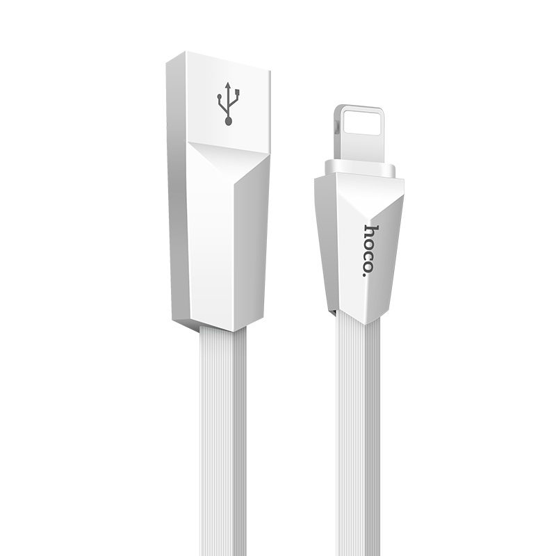 x4 lightning zinc alloy rhombus charging cable main