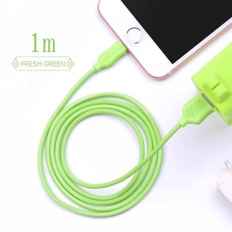 x6 khaki lightning charging cable interior wheat green
