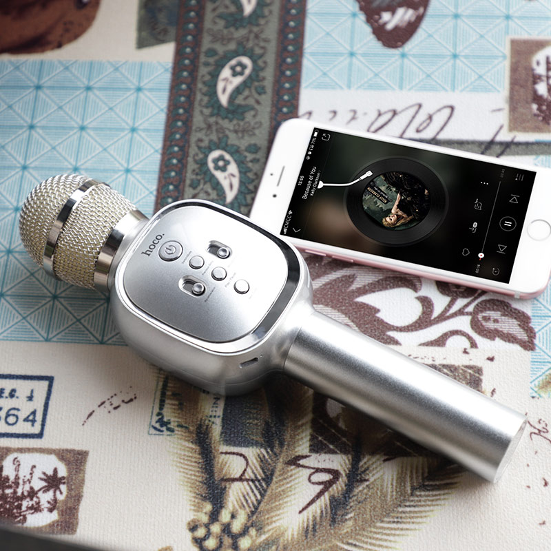 hoco bk4 soul sound ktv microphone phone