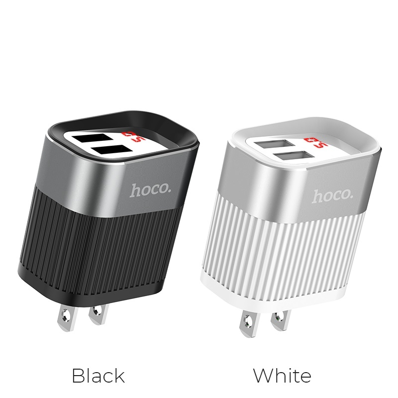 hoco c40 speedmaster dual usb port charger us colors