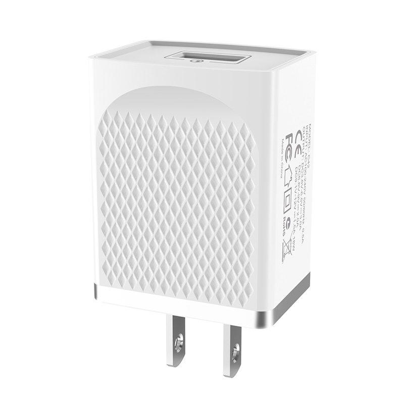 hoco c42 vast power зарядное устройство QC3.0 с одним портом текстура