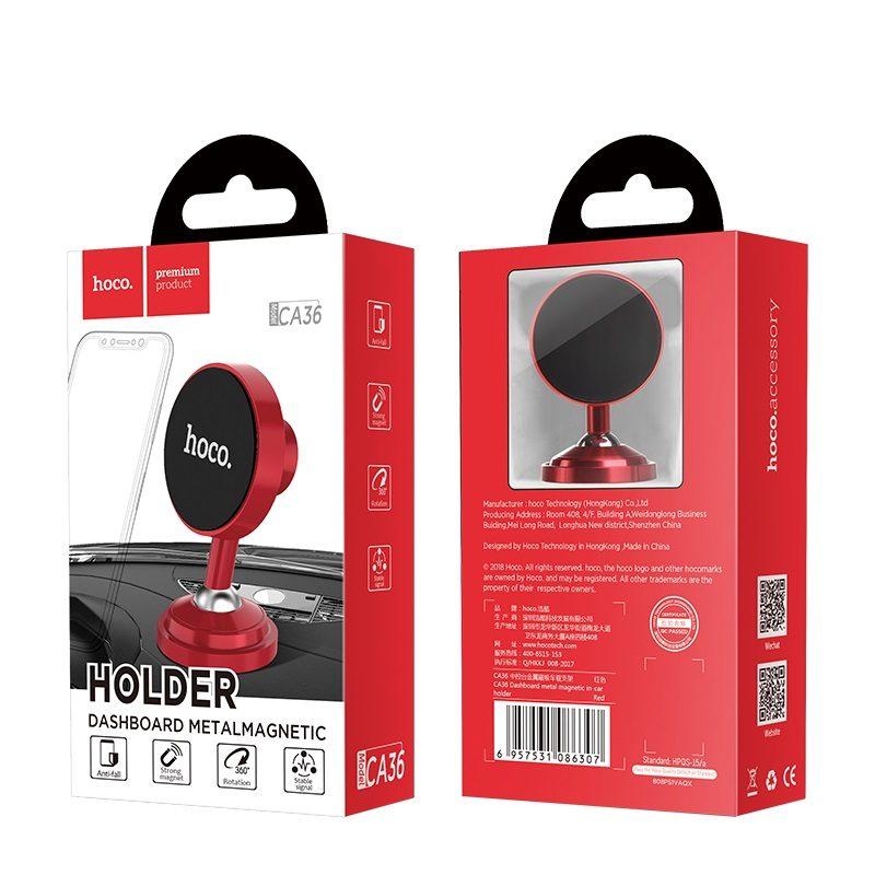 hoco ca36 dashboard metal magnetic in car holder package