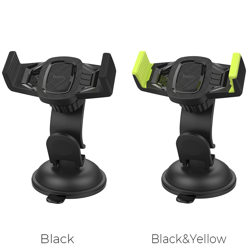 hoco ca40 refined suction cup base in car dashboard phone holder colors
