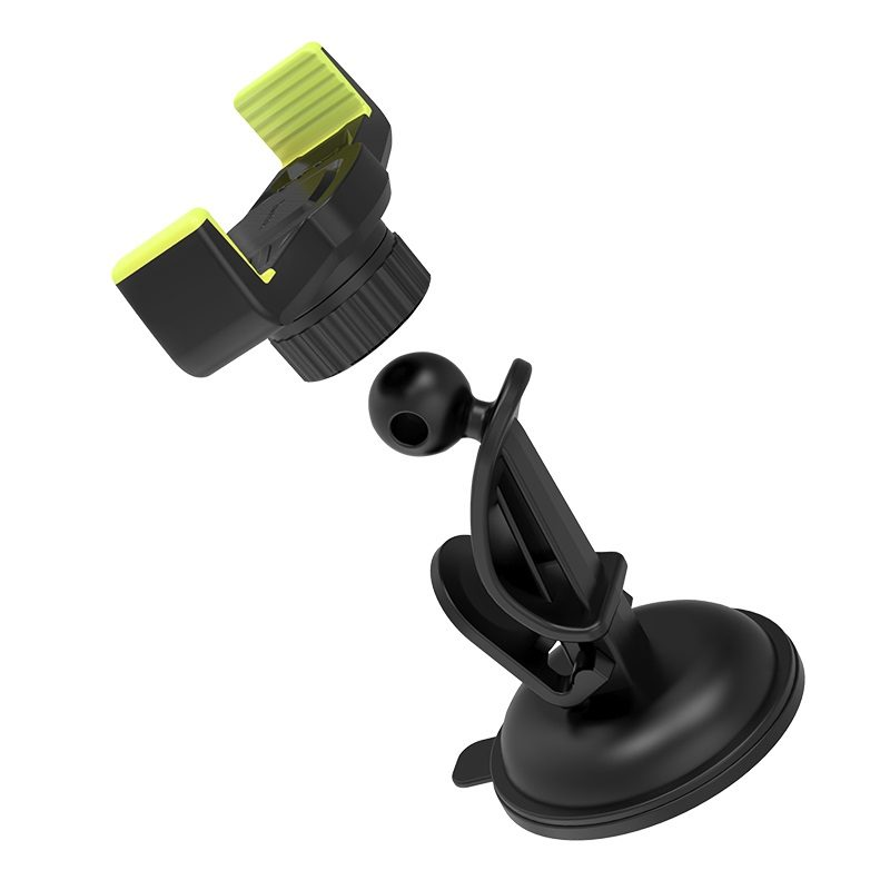 hoco ca40 refined suction cup base in car dashboard phone holder joints