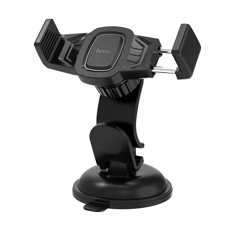 hoco ca40 refined suction cup base in car dashboard phone holder overview