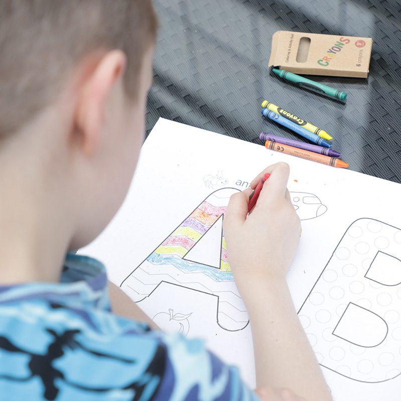 hoco children painting paper roll set
