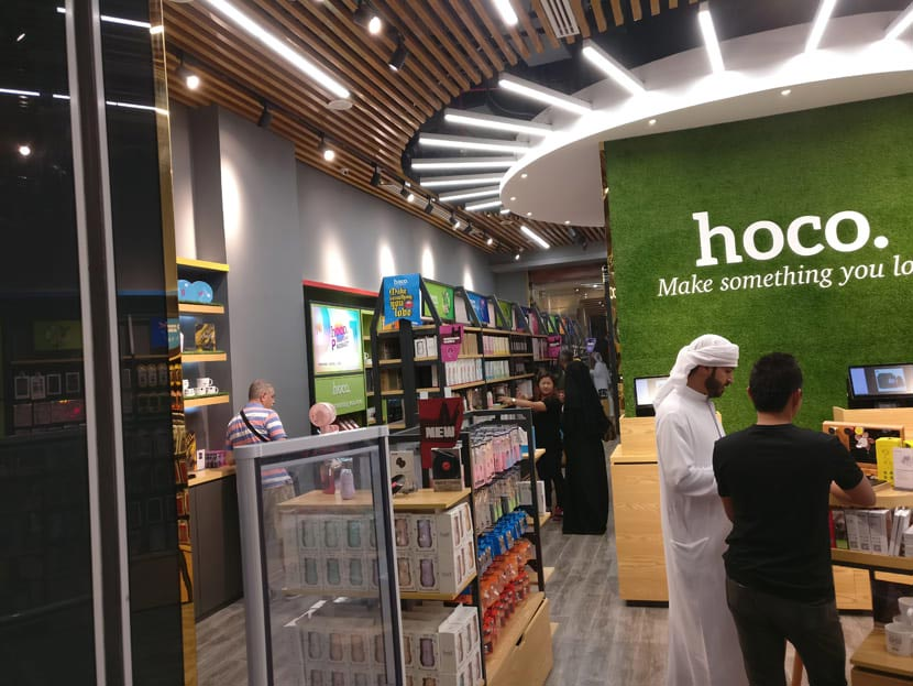 hoco dubai retail store grand opening 10