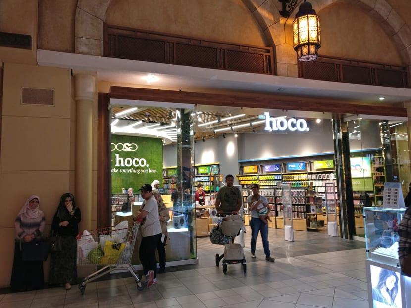hoco dubai retail store grand opening 15