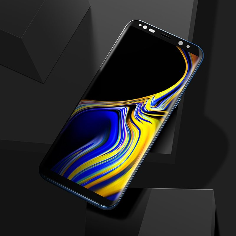 hoco full screen hd tempered glass for galaxy note 9 transparent