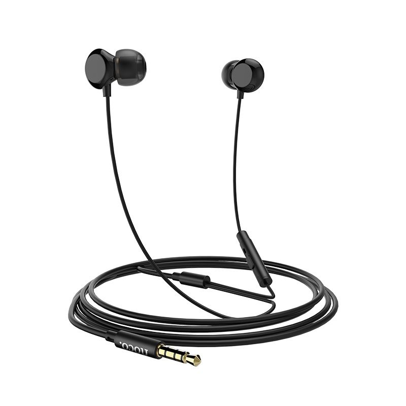 hoco m43 ceramic universal earphones with microphone cable