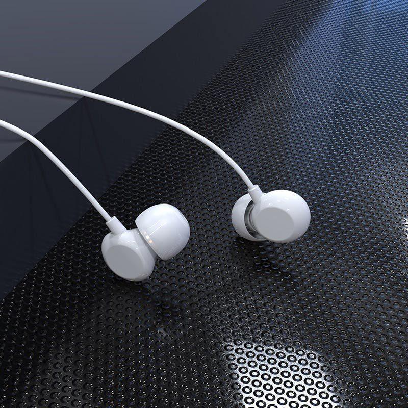 hoco m43 ceramic universal earphones with microphone headset
