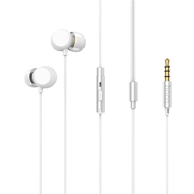 hoco m43 ceramic universal earphones with microphone jack