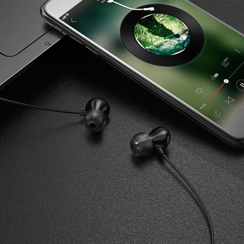 hoco m43 ceramic universal earphones with microphone phone