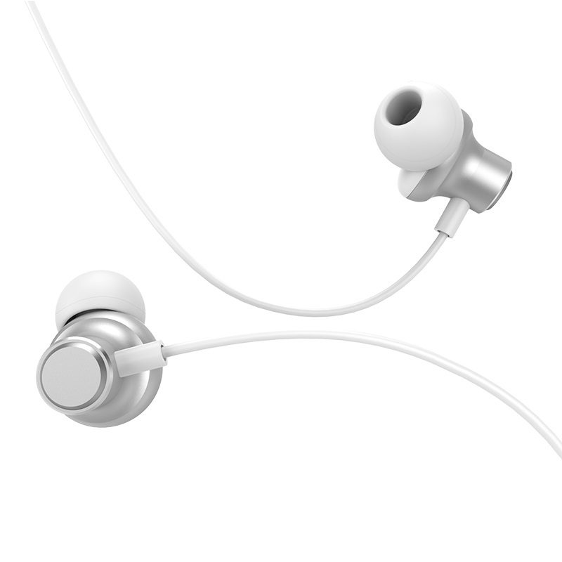 hoco m44 magic sound wired earphones with microphone tips