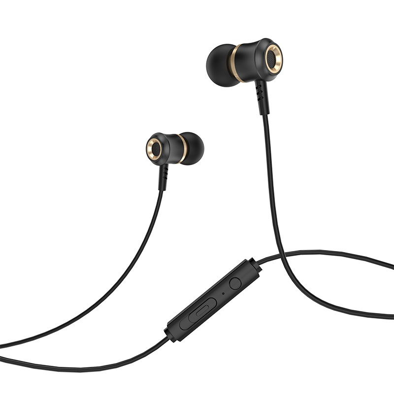 hoco m46 jewel sound universal earphones with microphone control