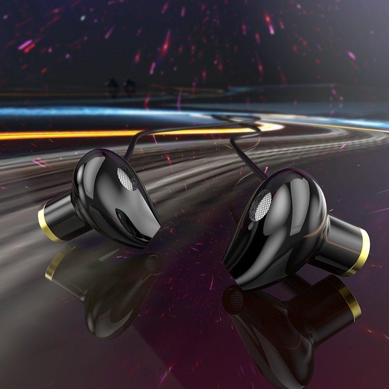 hoco m47 canorous универсальные наушники с микрофоном качество