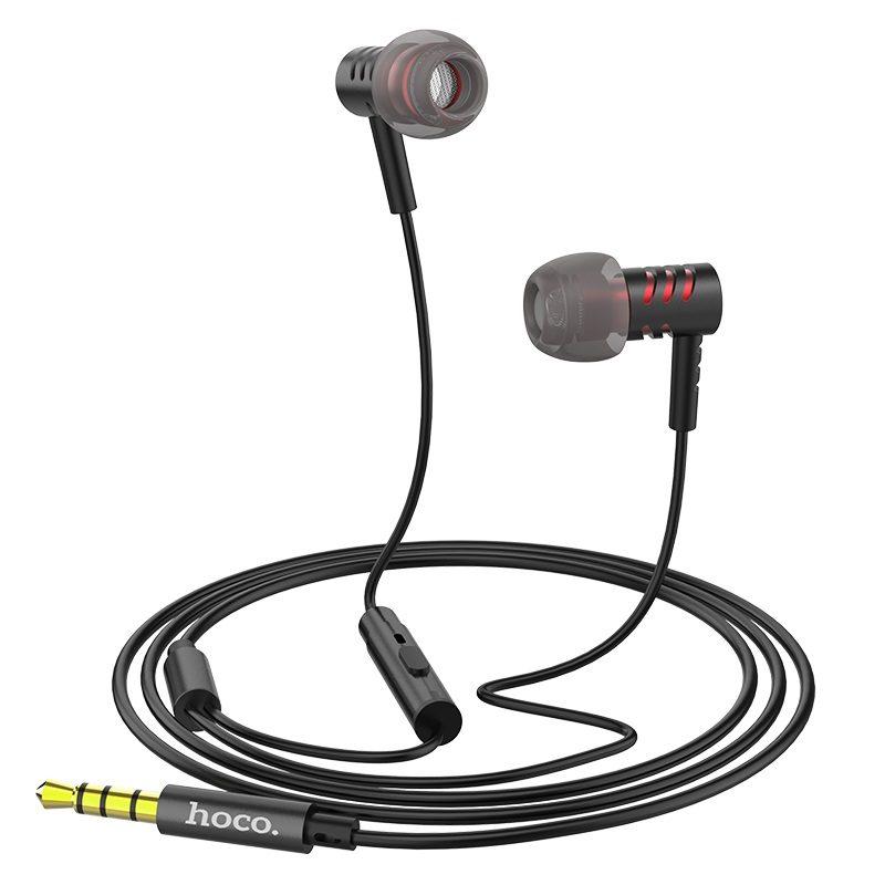 hoco m48 keen sound универсальные наушники с микрофоном кабель