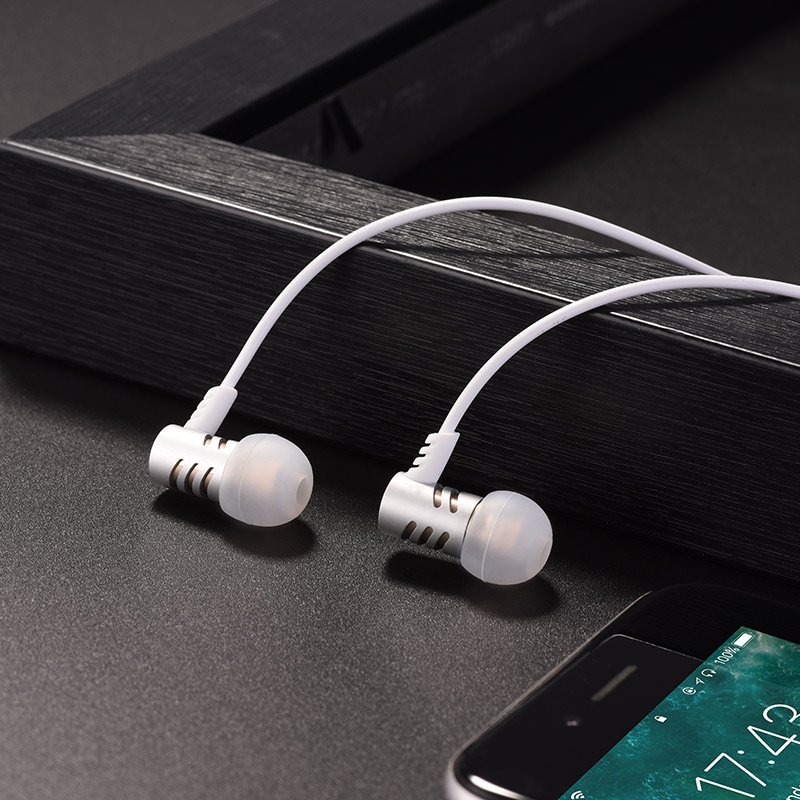 hoco m48 keen sound universal earphones with microphone phone