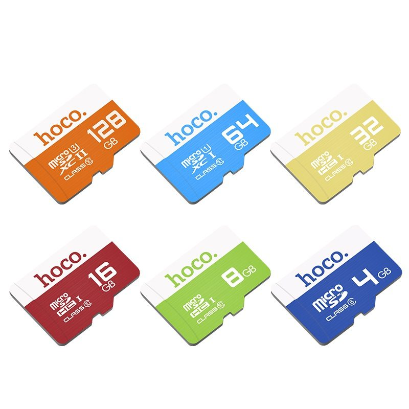 hoco tf high speed memory card 4gb 8gb 16gb 32gb 64gb 128gb all capacity