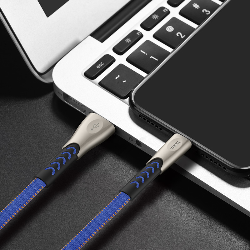 hoco u48 superior speed charging data cable for lightning phone