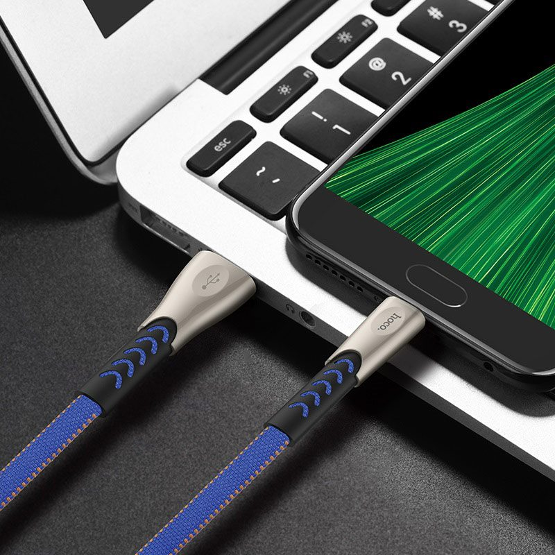 hoco u48 superior speed charging data cable for micro usb overview